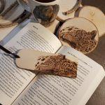 wypalanie w drewnie, sylwia, pirografia, janczyszyn, pyrography, handmade, rękodzieło, pomysł na prezent, podkładka, zakładka
