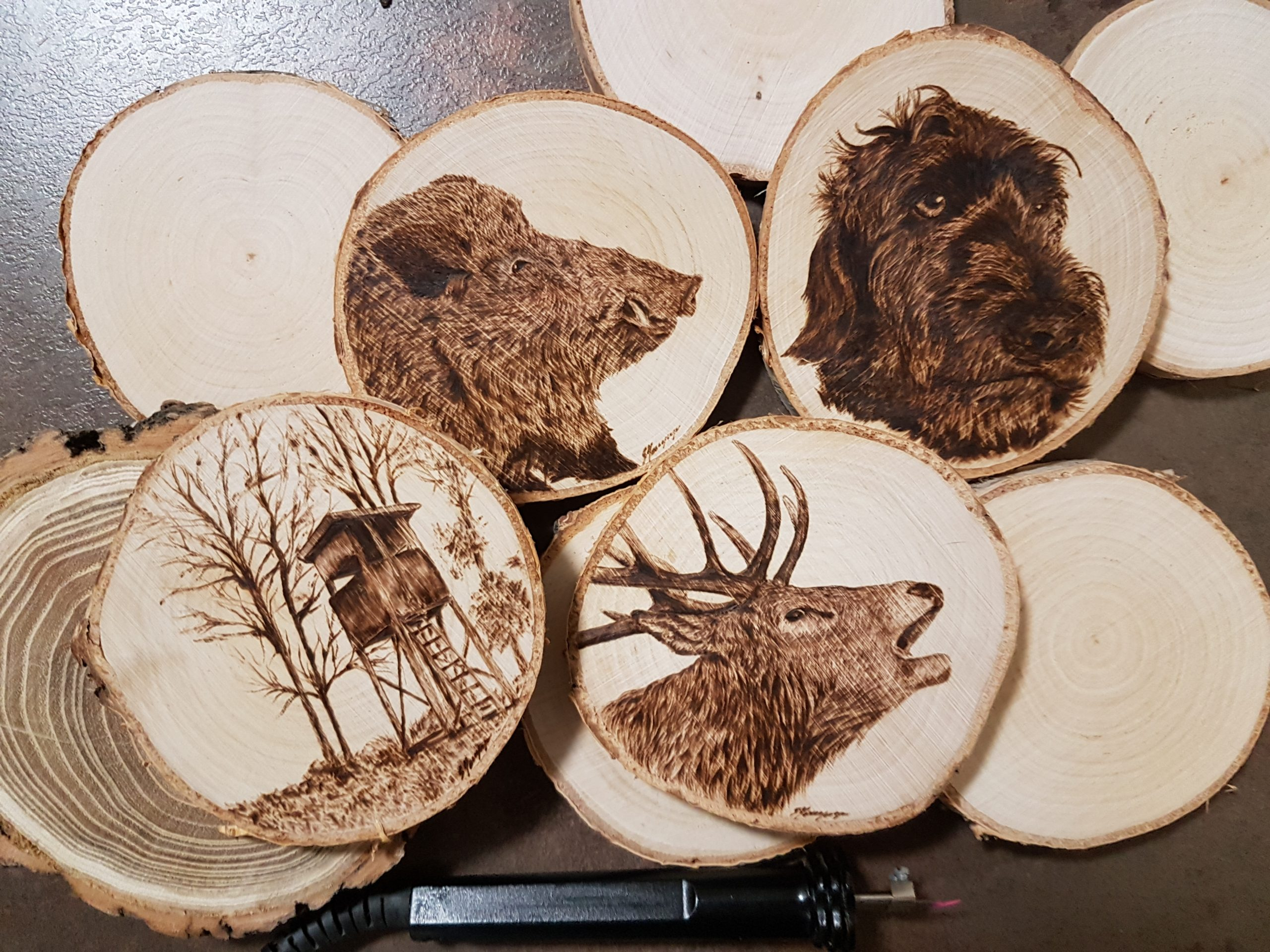 wypalanie w drewnie, sylwia, pirografia, janczyszyn, pyrography, handmade, rękodzieło, pomysł na prezent, podkładki pod kubek