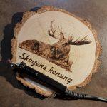 wypalanie w drewnie, sylwia, pirografia, janczyszyn, pyrography, handmade, rękodzieło, pomysł na prezent, łoś