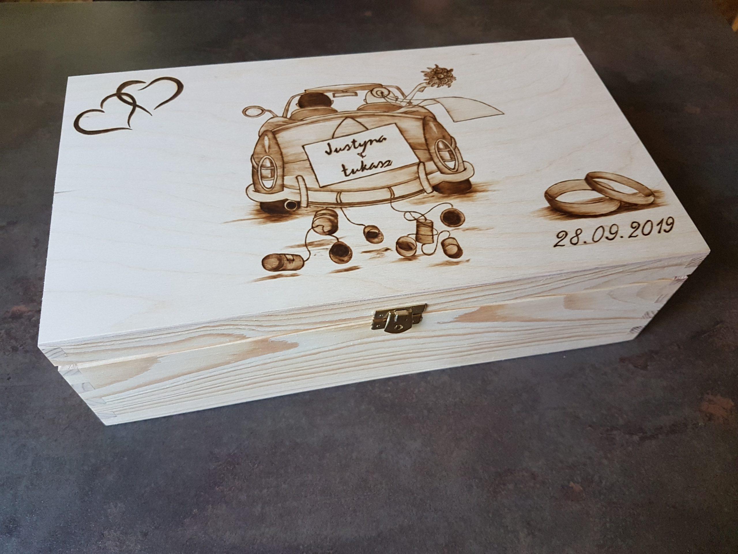 wypalanie w drewnie, sylwia, pirografia, janczyszyn, pyrography, handmade, rękodzieło, pomysł na prezent, pudełko na wino, prezent ślubny