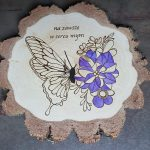 wypalanie w drewnie, sylwia, pirografia, janczyszyn, pyrography, handmade, rękodzieło, pomysł na prezent, motyl