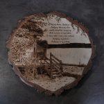 wypalanie w drewnie, sylwia, pirografia, janczyszyn, pyrography, handmade, rękodzieło, pomysł na prezent, pamiątka