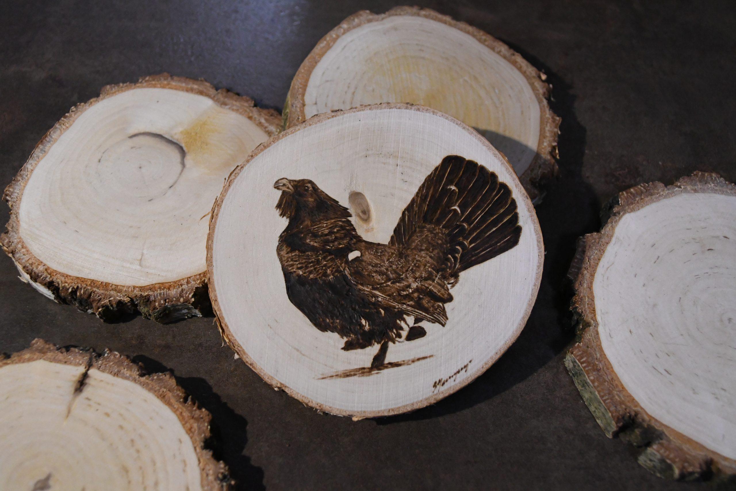 wypalanie w drewnie, sylwia, pirografia, janczyszyn, pyrography, handmade, rękodzieło, pomysł na prezent, podkładka pod kubek