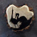 obrazy na zamówienie, ręcznie wypalane na drewnie, pirografia