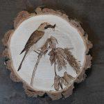 wypalanie w drewnie, sylwia, pirografia, janczyszyn, pyrography, handmade, rękodzieło, pomysł na prezent, gąsiorek