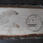 wypalanie w drewnie, sylwia, pirografia, janczyszyn, pyrography, handmade, rękodzieło, pomysł na prezent,niedźwiedź polarny, na zamówienie