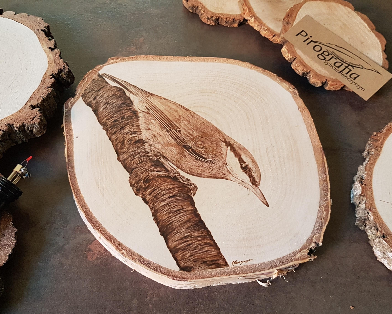 wypalanie w drewnie, pirografia, janczyszyn, pyrography, handmade, rękodzieło, pomysł na prezent, kowalik