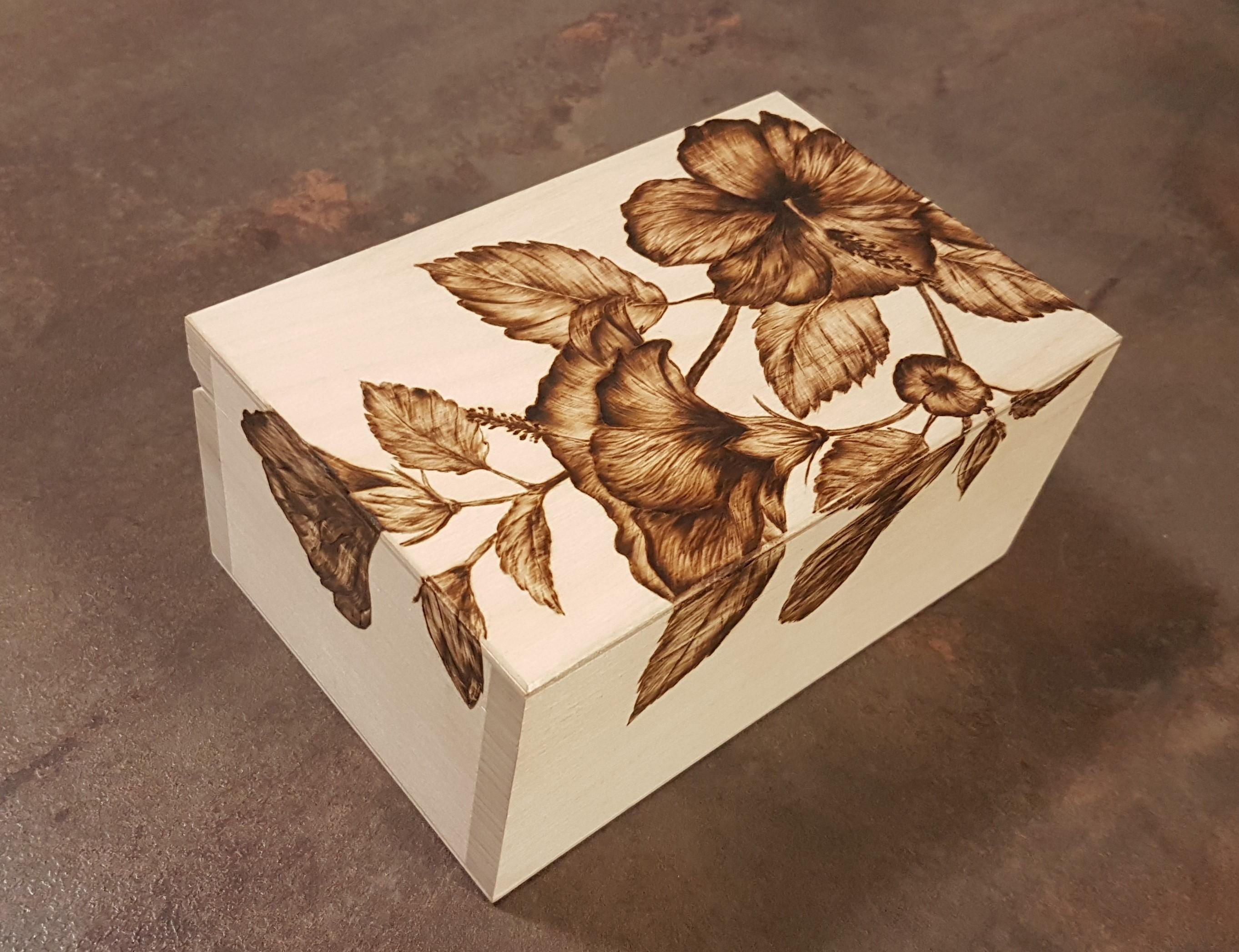 wypalanie w drewnie, sylwia, pirografia, janczyszyn, pyrography, handmade, rękodzieło, pomysł na prezent, pudełko