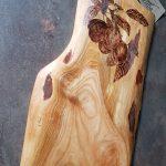 wypalanie w drewnie, sylwia, pirografia, janczyszyn, pyrography, handmade, rękodzieło, pomysł na prezent, deska do krojenia, deska do serwowania